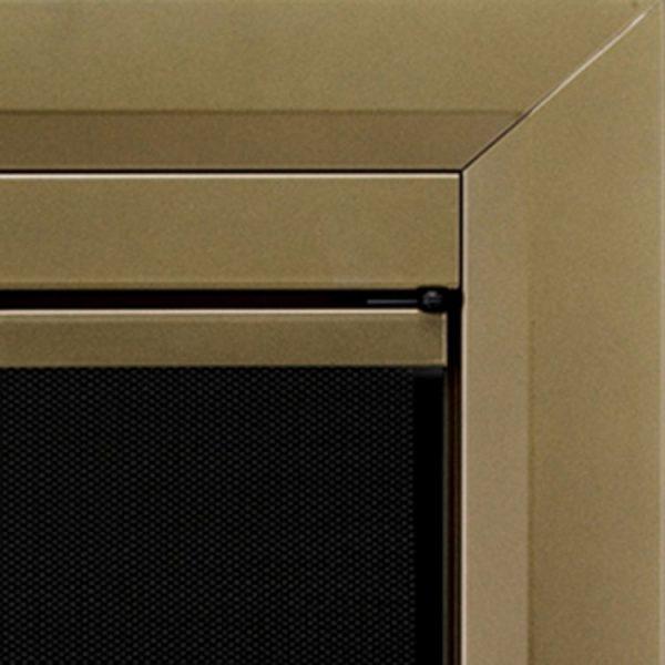Pleasant Hearth Cahill Glass Firescreen Antique Brass-CA-3200--CH-3200_B4_750x750