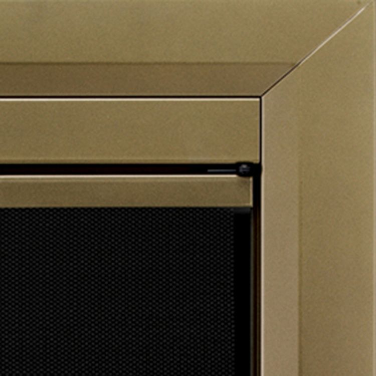Sarah Check Hearth Cabinet: Pleasant Hearth Cahill Fireplace Door Review