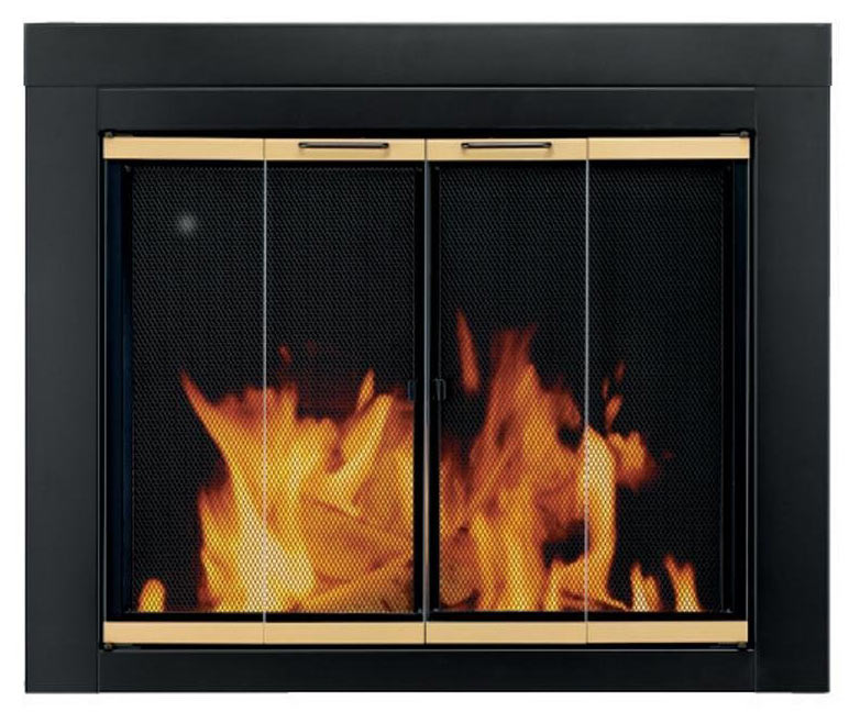 Pleasant Hearth Arrington - Fireplace Door