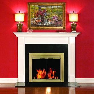 Pleasant Hearth Cahill Fireplace Door Review Pleasant Hearth