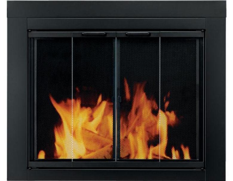 Pleasant Hearth Ascot Fireplace Door Review Doors