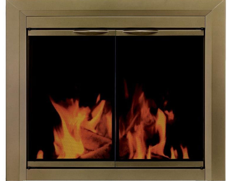 Pleasant Hearth Cahill Fireplace Glass Door