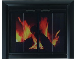 Pleasant-Hearth-CM-3012-Large-Clairmont-Fireplace-Glass-Door