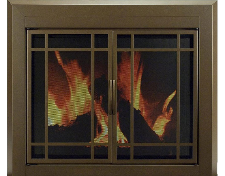 Pleasant Hearth Fireplace Doors Wood Pellet Stoves