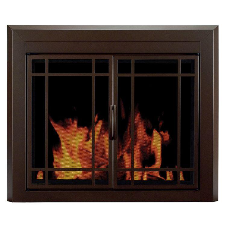 Pleasant Hearth Enfield Fireplace Door Pleasant Hearth