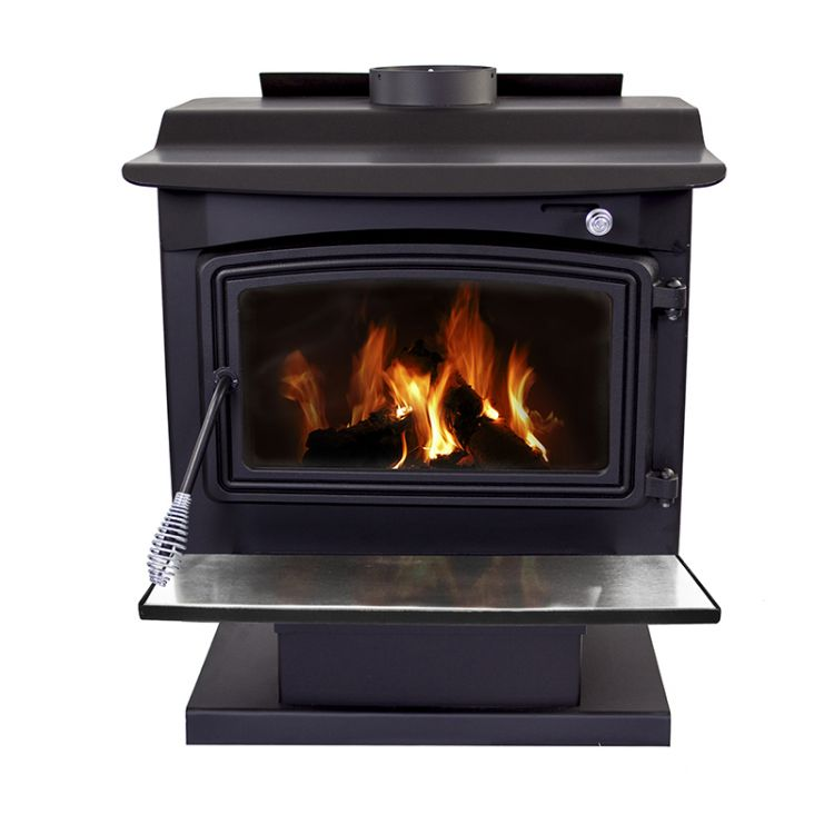 Pleasant Hearth WS-3029 2,200 Sq. Ft. Large Wood Burning Stove