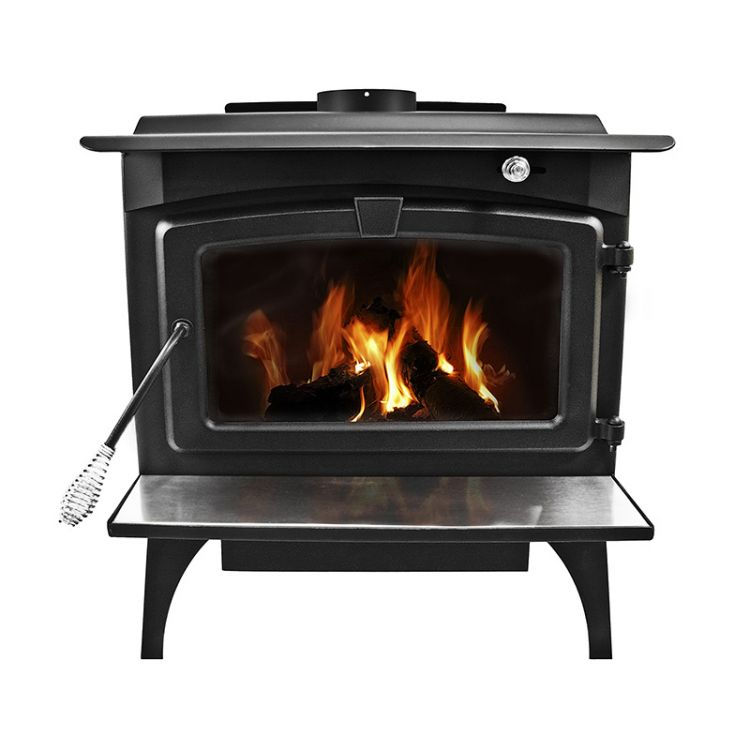 Pleasant Hearth 2 200 Square Feet Wood Burning Stove