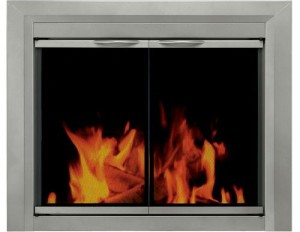 Pleasant-Hearth---Colby-Glass-Firescreen-Sunlight-Nickel-product-