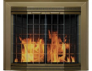 Pleasant-Hearth-Grandoir-Fireplace-Glass-Door-Antique-Brass-product-