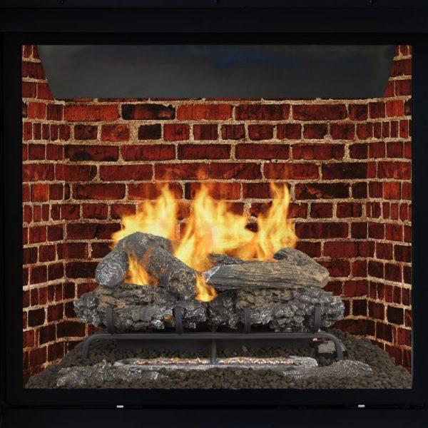 Pleasant Hearth 24'' Valley Oak Vent Free Gas Log Set 33,000 BTU's