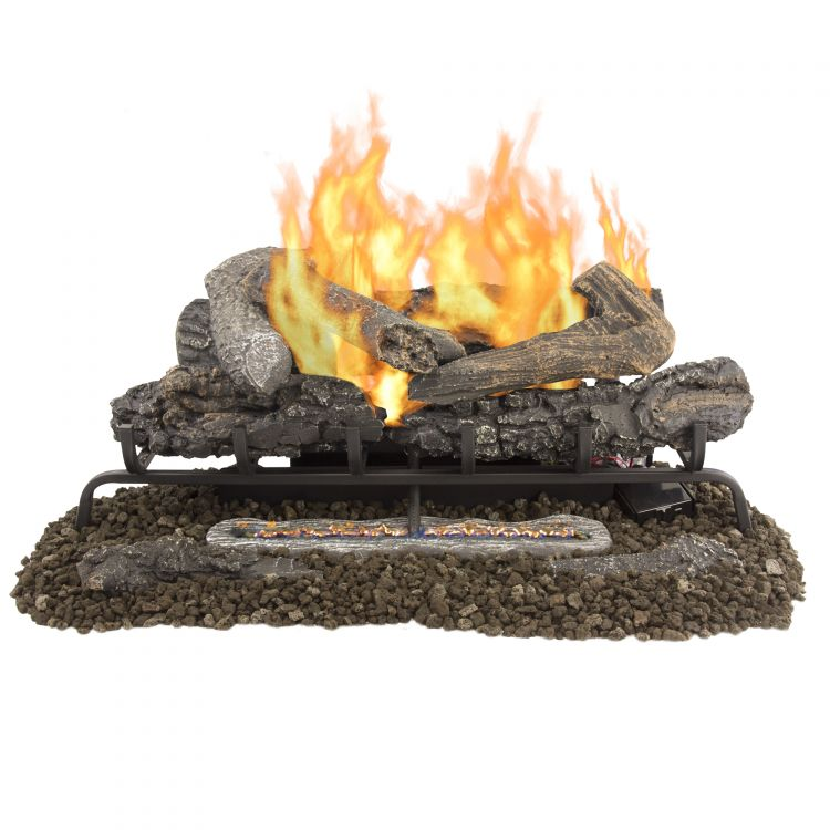 Pleasant Hearth 30'' Valley Oak Vent Free Gas Log Set 33,000 BTU's