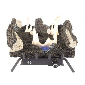 Pleasant Hearth 18inch Dual Fuel Wildwood Vent Free Gas Log Set 30,000 BTU - VFL2-WW18DT