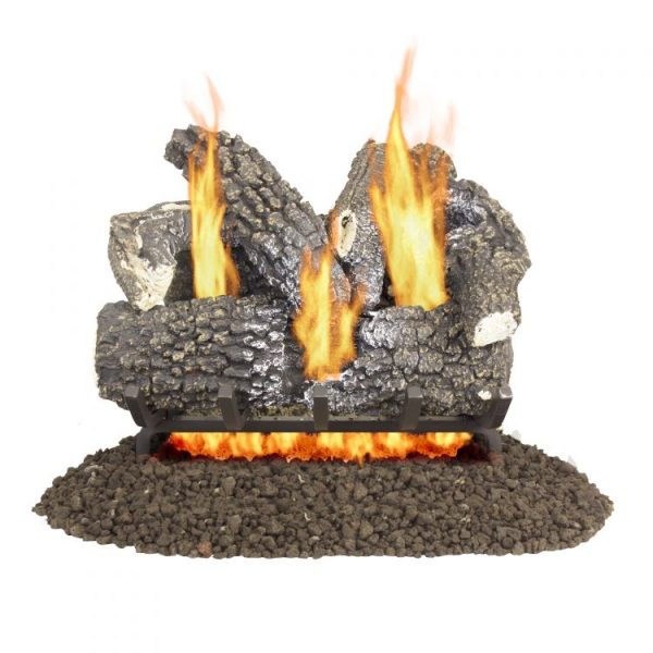 "VL-AA18D Pleasant Hearth 18"" Arlington Ash Vented Gas Log Set 45,000 BTU's"