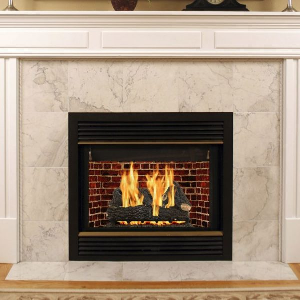 "VL-AA30D Pleasant Hearth 30"" Arlington Ash Vented Gas Log Set 65,000 BTU's"