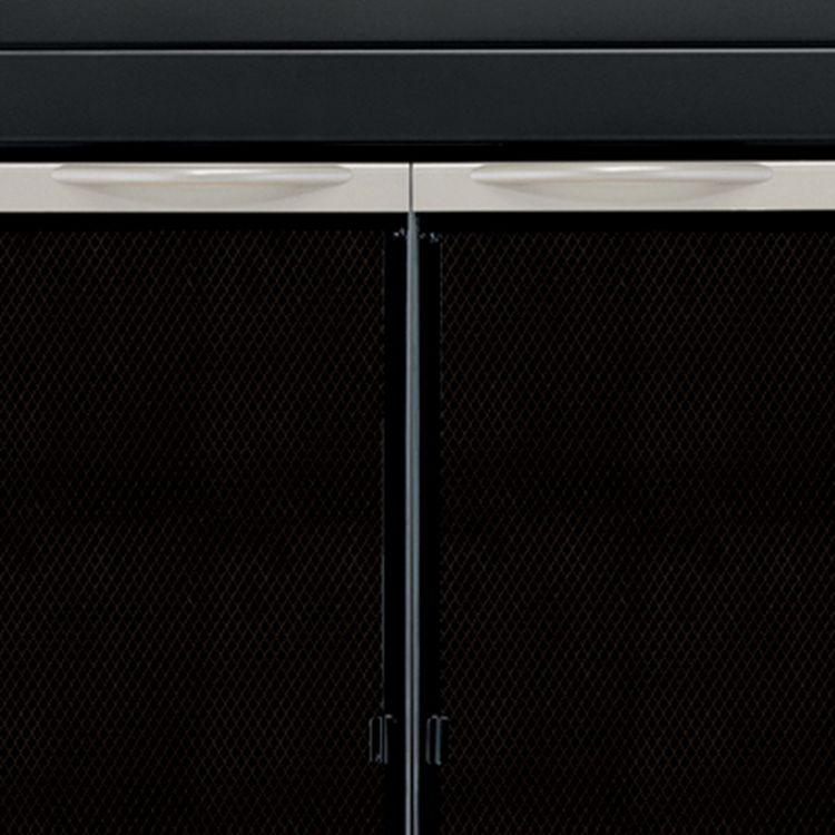Pleasant Hearth Alsip Fireplace Glass Door Review