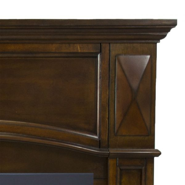 Close up detail of Pleasant Hearth 36 in. LP Compact Cherry VF Fireplace System 20K BTU - VFF-PH20LP-C2