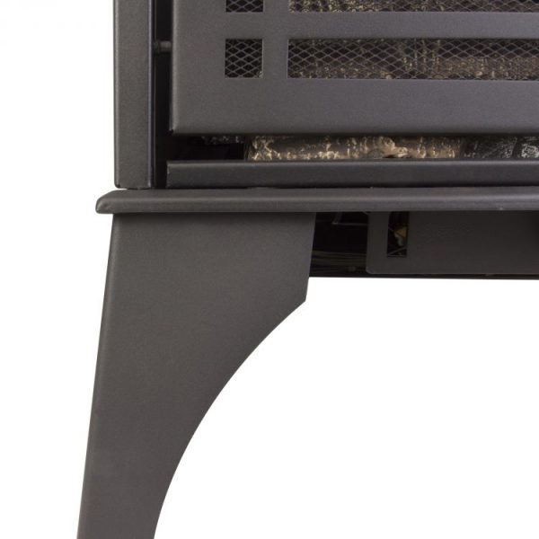 Close up of legs Pleasant Hearth 20,000 BTU 23.5 in. Compact Vent Free Gas Stove