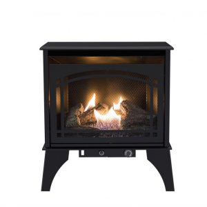 Hero shot of Pleasant Hearth 20,000 BTU 23.5 in. Compact Vent Free Gas Stove