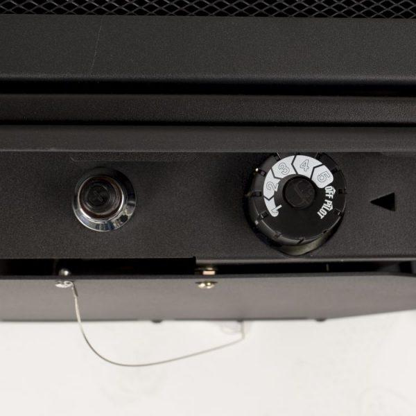 Thermostat control knob of Pleasant Hearth 20,000 BTU 23.5 in. Compact Vent Free Gas Stove
