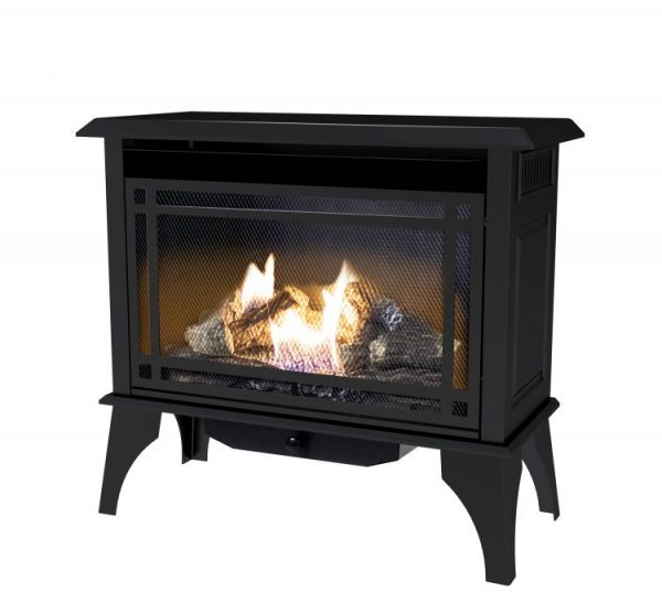 Profile image of Pleasant Hearth 30,000 BTU 32 in. Intermediate Vent Free Gas Stove - VFS2-PH30DT