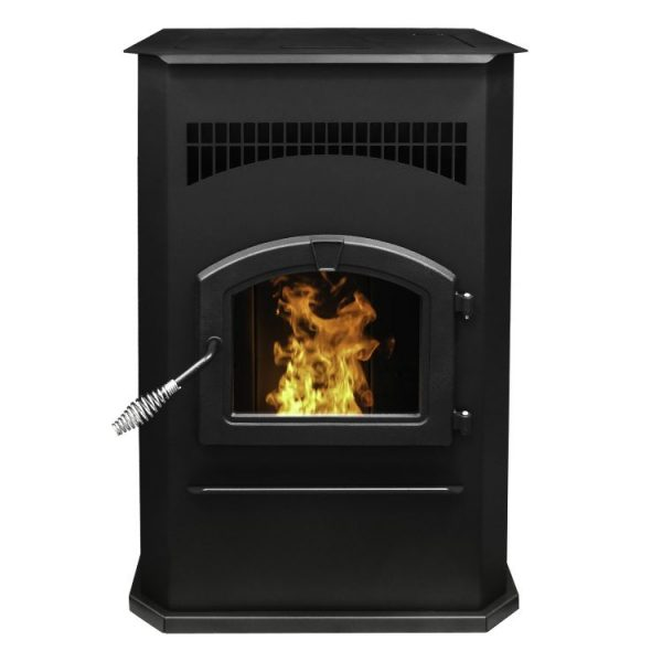 Pleasant Hearth 50,000 BTU Cabinet Pellet Stove - PH50CABPS-B - hero