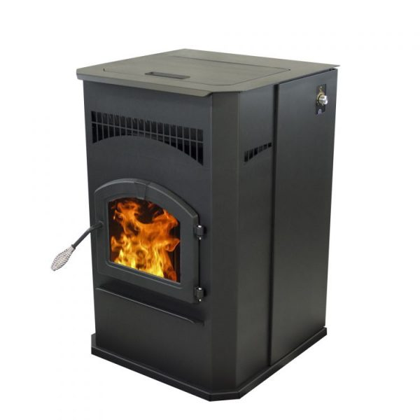 Pleasant Hearth 50,000 BTU Cabinet Pellet stove PH50CABPS-B